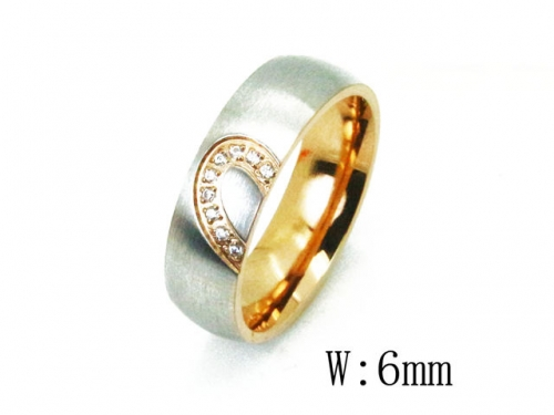 HY Wholesale 316L Stainless Steel Rings-HY23R0071NV
