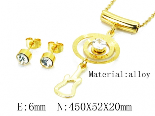 HY Wholesale 316 Stainless Steel jewelry Set-HY41S0163HDD