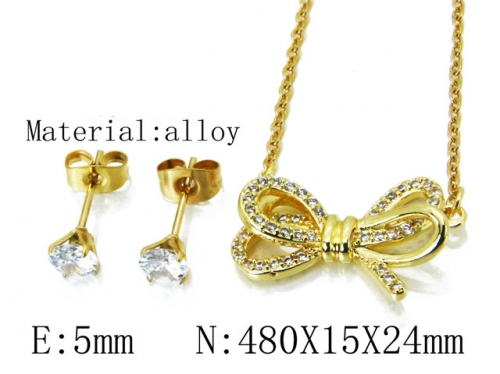 HY Wholesale 316 Stainless Steel jewelry Set-HY54S0509OLQ