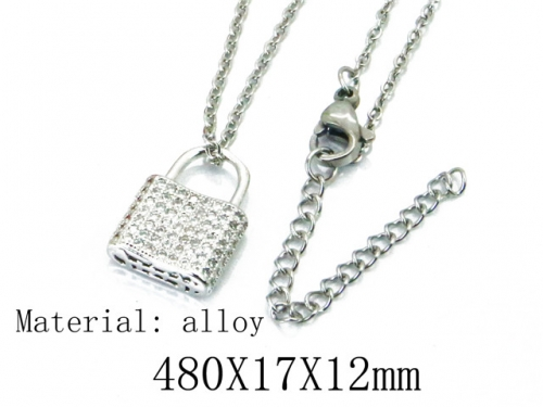 HY Wholesale 316L Stainless Steel Necklace-HY54N0365NC