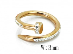 HY Wholesale 316L Stainless Steel Rings-HY19R0003HGG