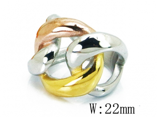 HY Wholesale 316L Stainless Steel Rings-HY15R1396HJW
