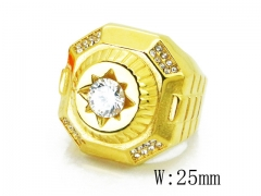 HY Wholesale 316L Stainless Steel Rings-HY15R1394HJX