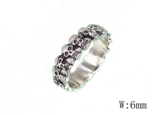 HY Wholesale 316L Stainless Steel Rings-HY27R0049H30