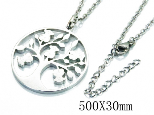 HY Wholesale 316L Stainless Steel Necklace-HY90N0130HEE