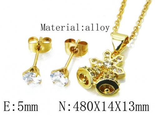 HY Wholesale 316 Stainless Steel jewelry Set-HY54S0501OL