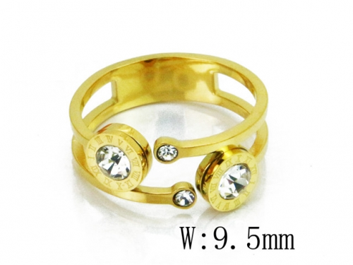 HY Wholesale 316L Stainless Steel Rings-HY19R0005PE