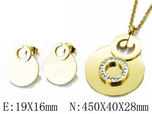 HY Wholesale 316 Stainless Steel jewelry Set-HY02S2743HIV