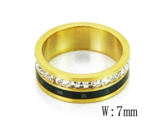 HY Wholesale 316L Stainless Steel Rings-HY19R0008HIF