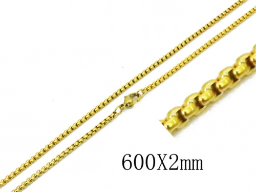 HY Wholesale 316 Stainless Steel Chain-HY62N0309JV