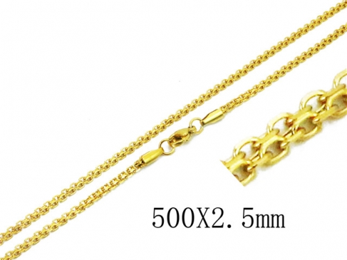 HY Wholesale 316 Stainless Steel Chain-HY62N0312LV