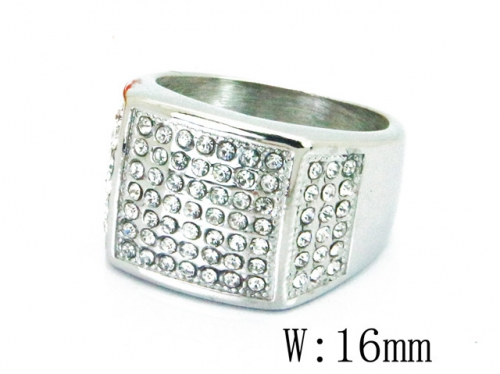 HY Wholesale 316L Stainless Steel Rings-HY15R1395HJL