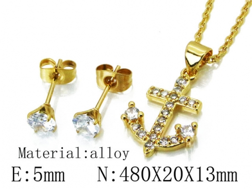 HY Wholesale 316 Stainless Steel jewelry Set-HY54S0494OL
