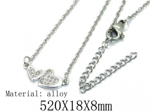 HY Wholesale 316L Stainless Steel Necklace-HY54N0361MF
