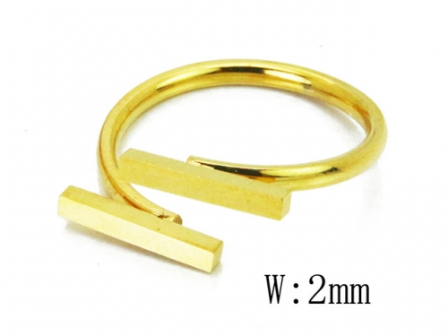HY Wholesale 316L Stainless Steel Rings-HY19R0021PW