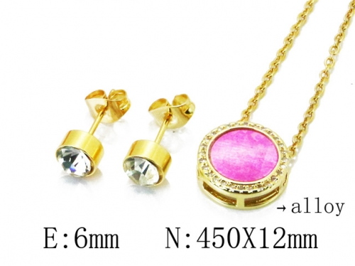 HY Wholesale 316 Stainless Steel jewelry Set-HY41S0065HHQ