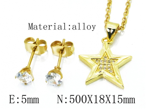 HY Wholesale 316 Stainless Steel jewelry Set-HY54S0526NL