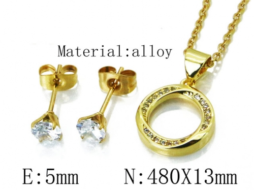 HY Wholesale 316 Stainless Steel jewelry Set-HY54S0505NL