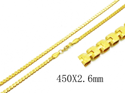 HY Wholesale 316 Stainless Steel Chain-HY62N0311JL