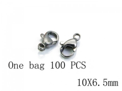 HY Wholesale 316L Stainless Steel Lobster Claw Clasp-HY73A0006HOZ