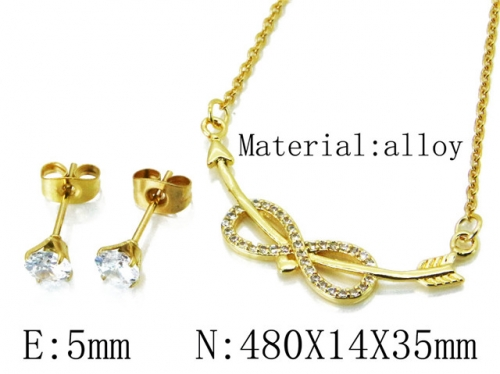 HY Wholesale 316 Stainless Steel jewelry Set-HY54S0507OLD