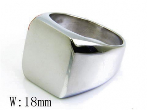 HY Wholesale 316L Stainless Steel Rings-HY46R0265H00