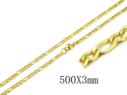 HY Wholesale 316 Stainless Steel Chain-HY62N0306JE