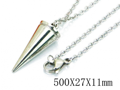 HY Wholesale 316L Stainless Steel Necklace-HY41N0019NV