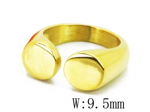 HY Wholesale 316L Stainless Steel Rings-HY15R1402HHE