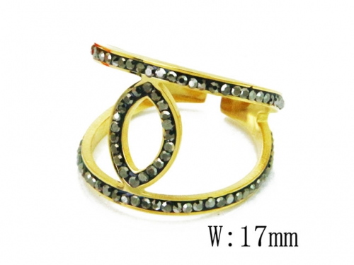 HY Wholesale 316L Stainless Steel Rings-HY19R0016HAA