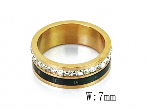 HY Wholesale 316L Stainless Steel Rings-HY19R0009HIE