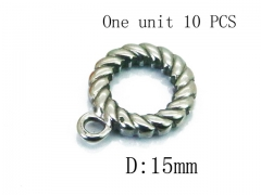 HY Wholesale 316L Stainless Steel Closed Jump Ring-HY70A1507HHC