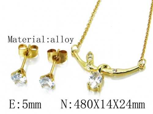 HY Wholesale 316 Stainless Steel jewelry Set-HY54S0510OD