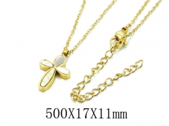 HY Wholesale 316L Stainless Steel Necklace-HY20N0093HFF