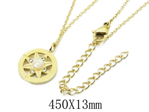 HY Wholesale 316L Stainless Steel Necklace-HY20N0010NC