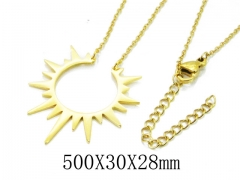 HY Wholesale 316L Stainless Steel Necklace-HY20N0098ML