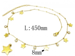 HY Wholesale 316L Stainless Steel Necklace-HY20N0062HIQ