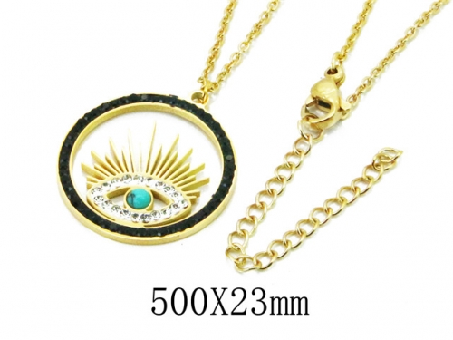 HY Wholesale 316L Stainless Steel Necklace-HY20N0100HHW