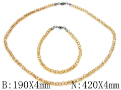 HY Wholesale Necklaces Bracelets Sets-HY70S0010P0