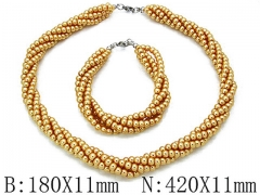 HY Wholesale Necklaces Bracelets Sets-HY70S00014L0