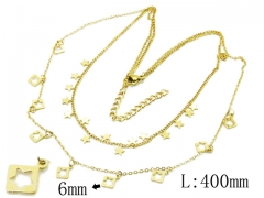 HY Wholesale 316L Stainless Steel Necklace-HY20N0111HOF