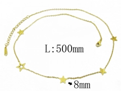 HY Wholesale 316L Stainless Steel Necklace-HY24N0001HHS