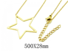 HY Wholesale 316L Stainless Steel Necklace-HY20N0081MC