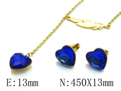HY Wholesale 316L Stainless Steel jewelry Set-HY85S0287NL