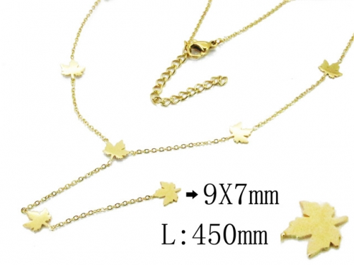 HY Wholesale 316L Stainless Steel Necklace-HY20N0116HHS