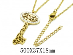 HY Wholesale 316L Stainless Steel Necklace-HY20N0070OX