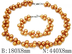 HY Wholesale Necklaces Bracelets Sets-HY70S0012H10