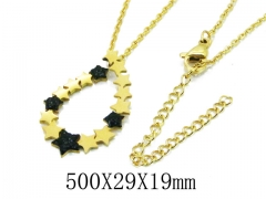 HY Wholesale 316L Stainless Steel Necklace-HY20N0085OD