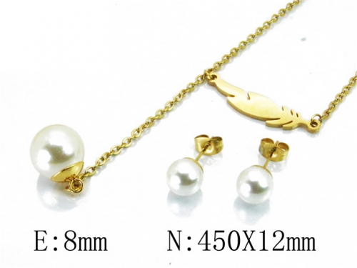 HY Wholesale 316L Stainless Steel jewelry Set-HY85S0284NL