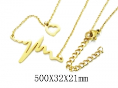 HY Wholesale 316L Stainless Steel Necklace-HY20N0102NW